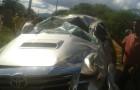 Camacan:Acidente na Avenida dos Pioneiros deixa motorista gravemente ferido