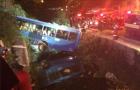Cinco pessoas morrem em acidente de ônibus