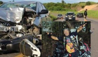 Motociclista morre após colidir em carro na BR-101, em Eunápolis