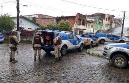 Camacan: Megaoperação deflagrada pelas polícias Civil e Militar na Cidade Alta