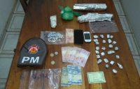 Homem de Ubaitaba é preso traficando drogas em Santa Luzia