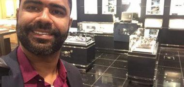 """Brasileiro """"Danilo da D9"""", foi detido quando desembarcou no aeroporto do país Emirados Árabes Unidos"""