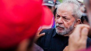 O ex-presidente Lula, durante visita a cidade de São Miguel das Missões (RS) no último dia 22 (Foto: Ricardo Marchetti/Agência F8/Estadão Conteúdo)