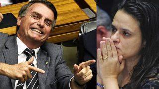 Autora do pedido de impeachment de Dilma pode ser vice de Bolsonaro