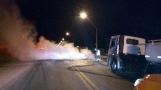 Protesto contra aumento do diesel fecha trechos da BR-324 e BR-116 na Bahia