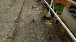 asw - Camacan: Escadarias e muro de arrimo da Rua das Flores, abandonados pelo poder público - o tempo jornalismo