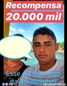 Capturar 2 234x300 - Indivíduo procurado, recompensa R$ 20 mil - o tempo jornalismo