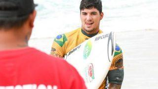 Gabriel Medina faz história e é bicampeão mundial de surfe