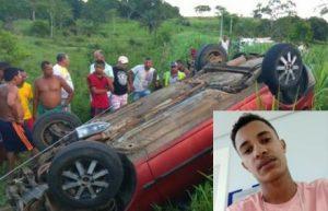 vitima acidente e1545043118308 300x193 - Jovem morre em grave acidente na BA-262, entre Itajuípe e Coaraci - o tempo jornalismo