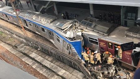 Colisão entre trens deixa cinco feridos na Zona Norte do Rio