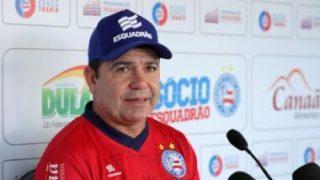 Enderson Moreira vê momento difícil no Bahia e afirma: 'Temos que ultrapassar'