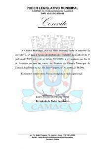 WhatsApp Image 2019 02 19 at 10.31.09 AM 212x300 - Camacan: Legislativo Municipal abre os trabalhos nesta terça-feira (19) - o tempo jornalismo