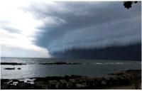 Auge de ciclone que atinge a Bahia deve acontecer na segunda-feira