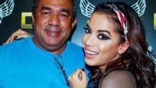 Pai da Anitta afirma que cantora merece beijar Neymar e 'quem ela quiser'