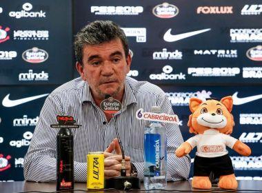 Presidente do Corinthians, Andrés Sanchez tem mal-estar e é internado em São Paulo
