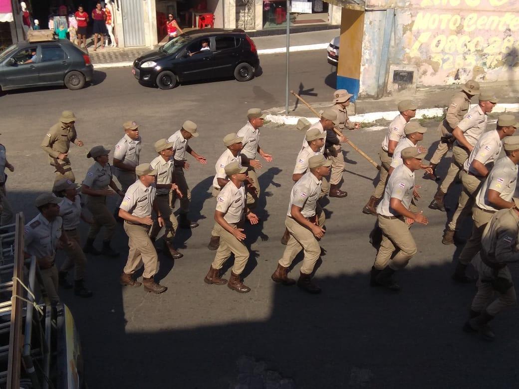 Camacan: Polícia Militar apresenta novos policiais, aumentando o contingente