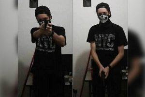 suspeito tiroteio suzano 3 300x200 - Atirador de Suzano postou imagem com máscara e arma antes do crime, vídeo - o tempo jornalismo