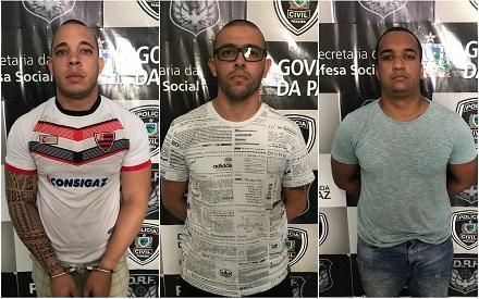 Policiais da Bahia são presos na PB por sequestros de empresários e roubos