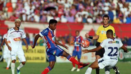 Bahia arranca empate com Bahia de Feira no primeiro jogo da final do Baiano