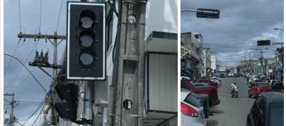 Camacan: Centro da cidade recebe sinalização por meio de semáforos