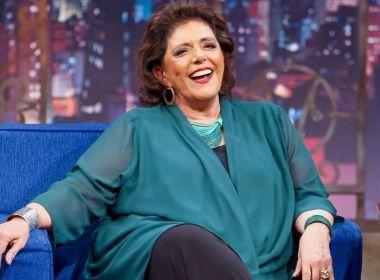 Jornalista Leda Nagle desabafa no 'The Noite' sobre demissão repentina da TV Brasil