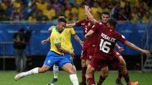 2019 06 19t015134z 1808481048 rc1de334e9a0 rtrmadp 3 soccer copa bra ven WIjJd5Y e1560943619530 300x169 - Brasil tem dois gols anulados pelo VAR, ouve vaias e só empata com Venezuela - o tempo jornalismo
