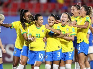 Brasil enfrenta a França nas oitavas da Copa do Mundo Feminina