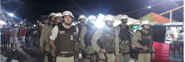 Camacan: Comando da PM faz balanço da festa junina em sua jurisdição