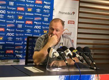 Mano assume culpa por derrota do Cruzeiro e minimiza chance de rebaixamento