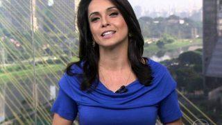 Izabella Camargo volta para a Rede Globo e presença de jornalista causa burburinho